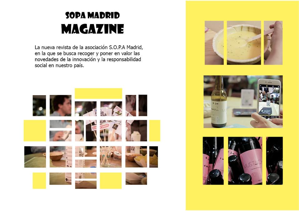 """Una """"sopa"""" y una revista"""