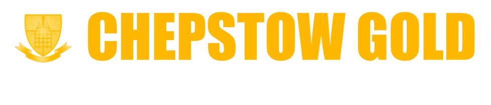 Chepstow Gold words crest.png