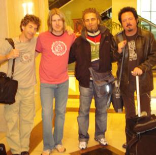 Serafino and the Band Toto in Montevideo (Uruguay) 2007