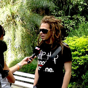 TV interview - Buenos Aires - 2013