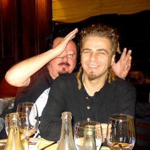 Steve Lukather and Serafino in Montevideo (Uruguay) 2007