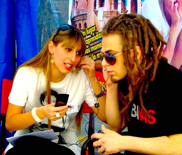 Serafino - Radio interview in Bueno Aires - 2010