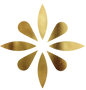 Atabey Beauty flower icon gold
