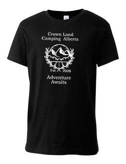 Youth Crown Land Camping AB T-shirt