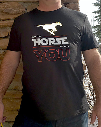 May the Horse be With You (T-shirt)