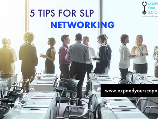 5 Tips for SLP Networking & Finding Your Own SLP Mentor