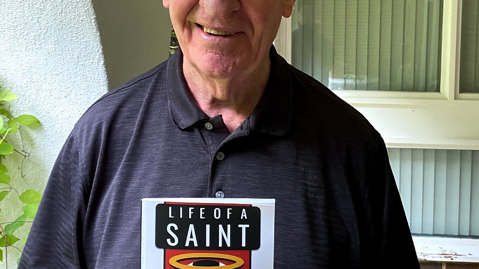 Lawrie McMenemy Signed Life Of A Saint