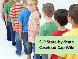 SLP State-by-State School Caseload Cap Wiki