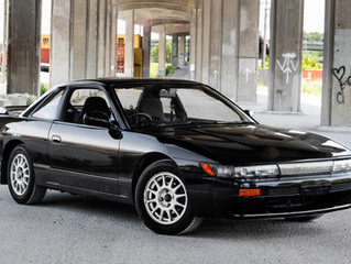 Wrong-hand drive: The 1990 Nissan Silvia S13