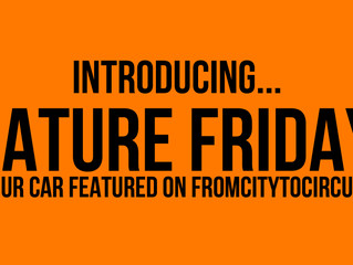 Introducing... Feature Fridays!