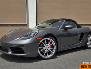 Topless Turbo: the 2017 Porsche 718 Boxster S