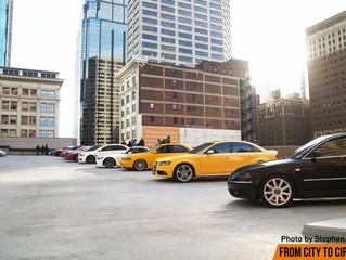 #FCTContheroof: Our parking garage meet in downtown Kansas City