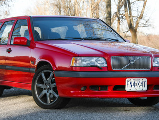 An iconic race-bred family hauler: The 1996 Volvo 850R