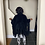 Thumbnail: Kamelia Fringe Overcoat (Black)