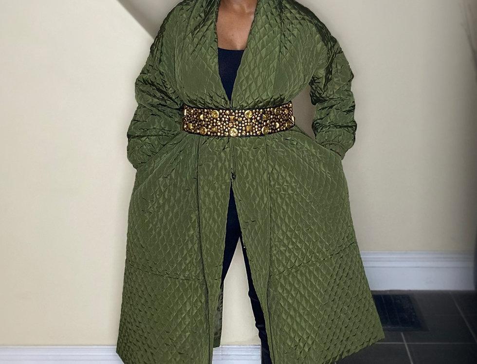 Kinu Quilted Kimono Coat/Dress