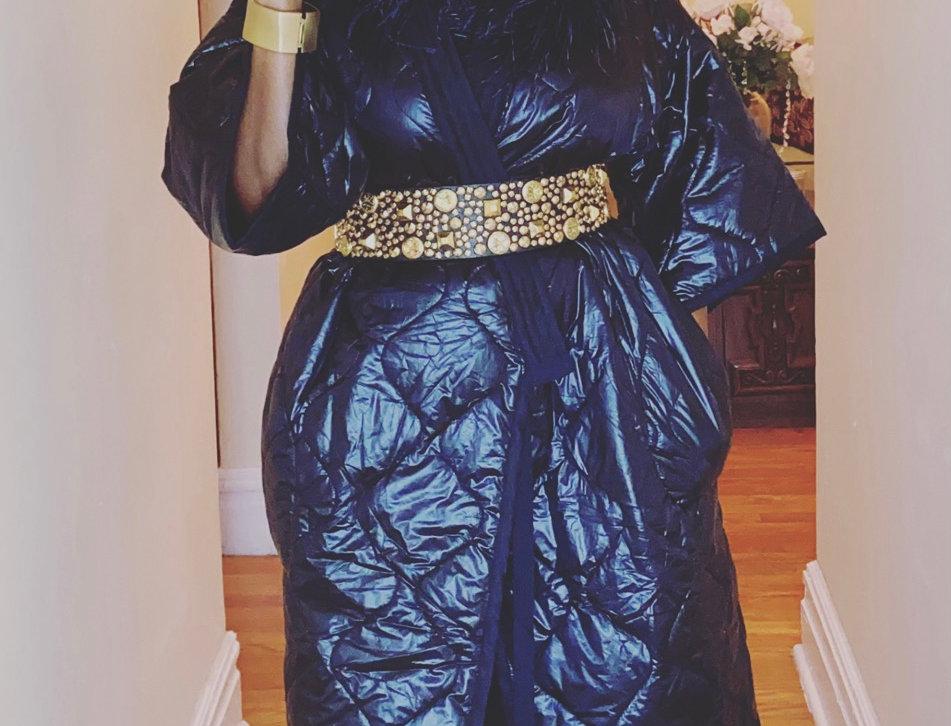 Mina Quilted Kimono Coat/Dress