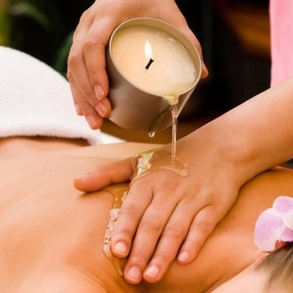 Organic Massage Candle