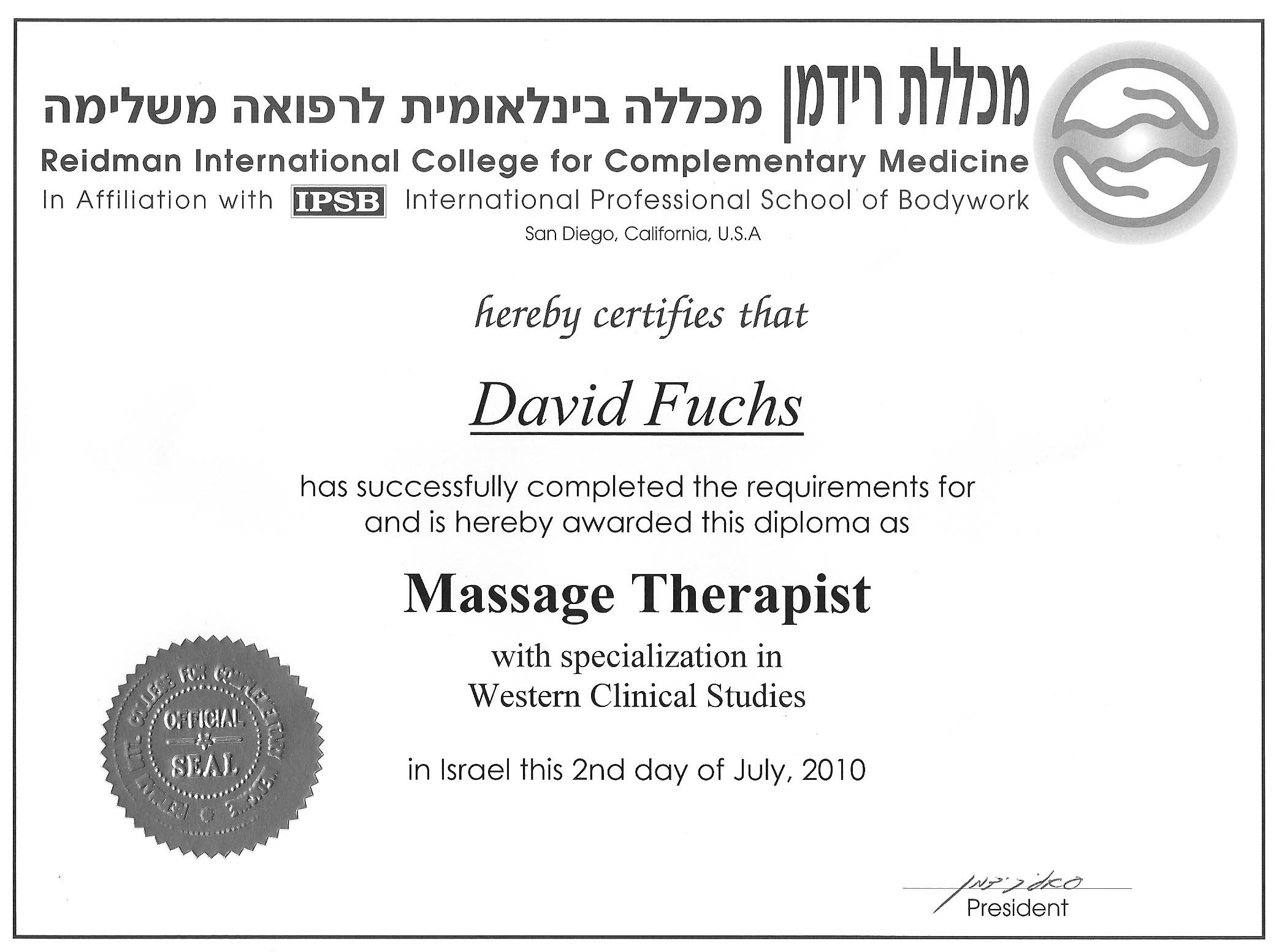massage therapist-westeran clinical.jpg