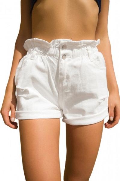 High rise shorts....
