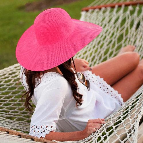 56-58cm Natural Grass Beach Hat 56-58cm Natural Grass Beach Hat