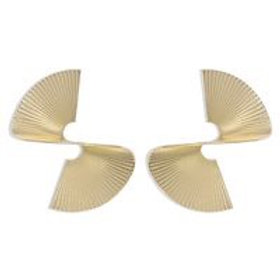 Exaggerated Swirling Retro Fashion Alloy Earrings