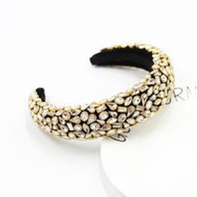 New Fashion Baroque Full Diamond Geometric Headband