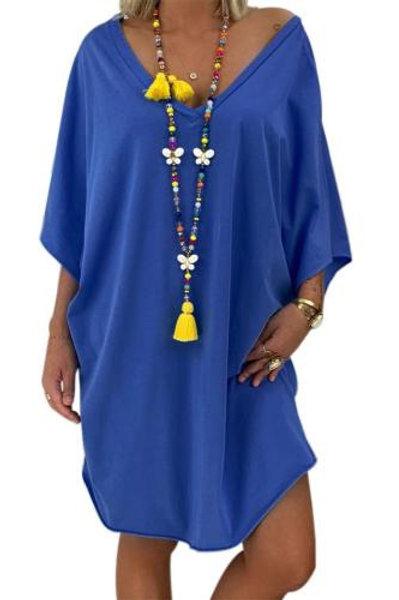 Sky Blue Petite Robe Farah