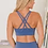 Thumbnail: Crisscross Back Sports Bra Leggings Set