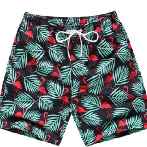 Men printed swim shorts, swim trunks