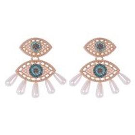 Eyes Pearl Creative Hot Earrings