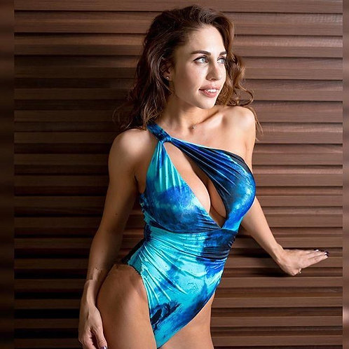 Sexy One Shoulder Bikini Swimsuit
