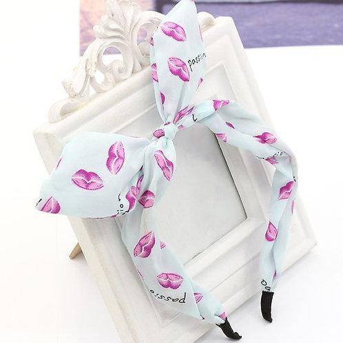 Fashion lips  Rabbit Headband