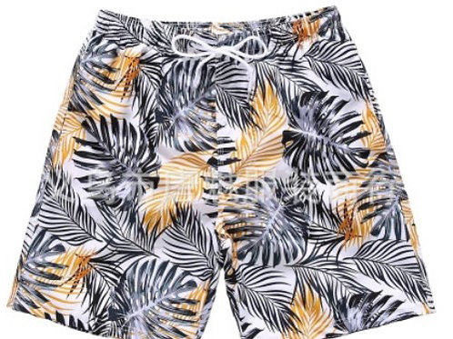Men printed swim shorts, swim trunks