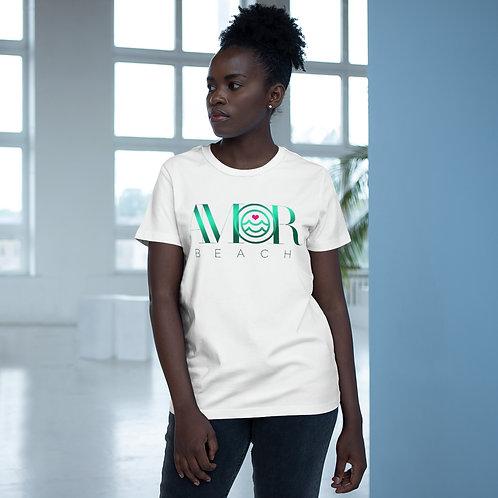 Amorbeach print t-shirts