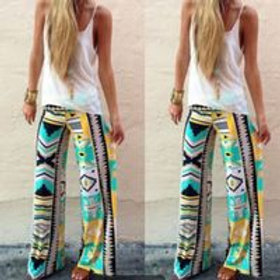 Printed Women's Trousers