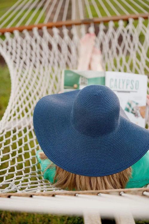 56-58cm Natural Grass Beach Hat