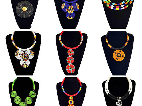 African necklaces Beaded Necklace