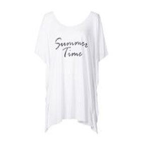 Summer time cotton print beach dress