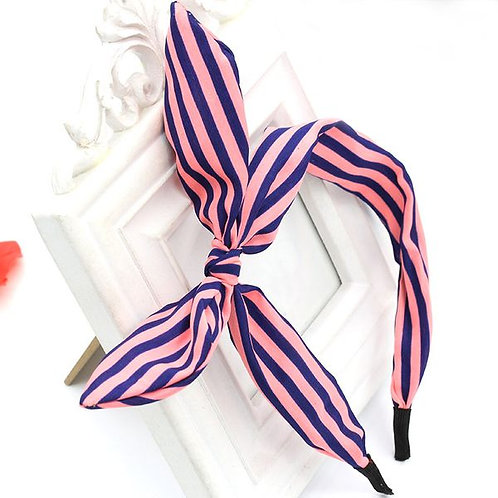 Fashion Stripes Rabbit Headband