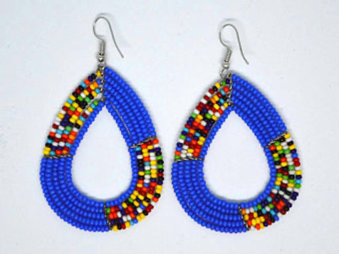 Maasai colorful  African earrings
