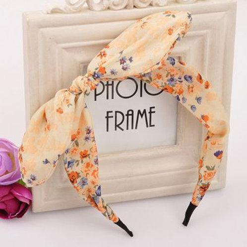 Floral Bowknot Fashion  Headband