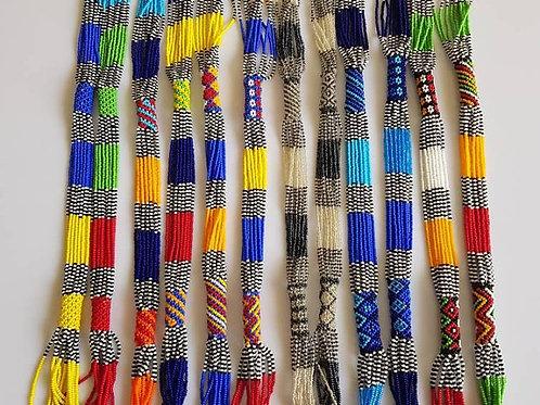 African zulu necklace