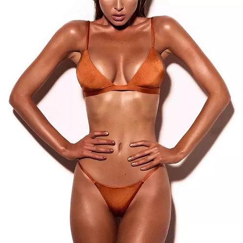 Sexy two piece bikini swimsuit