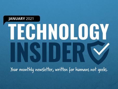 Schwalm Tech's Monthly Newsletter - Jan 2021