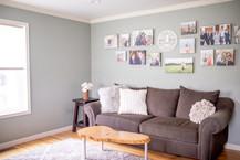 Red Mill Monogram Living Room Custom Sig