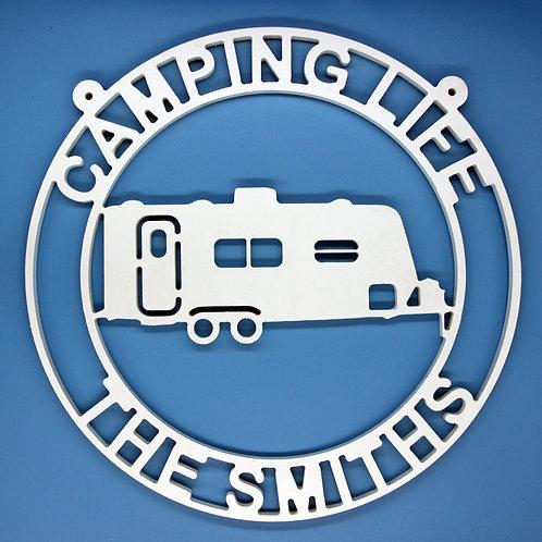 Camper with Back Door