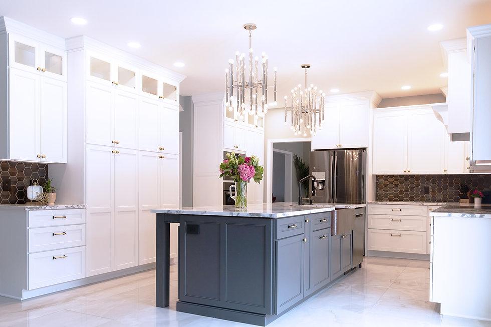 EJ Designs Luxury Interior Design Kitchen in Camp Hill PA