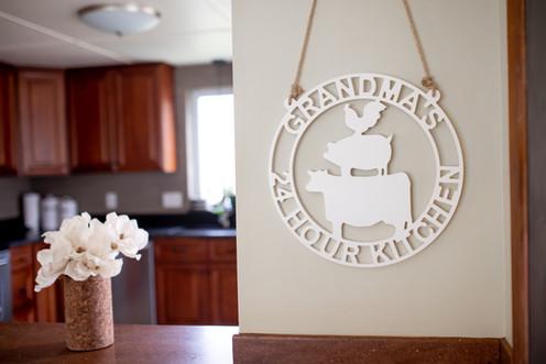 Red Mill Monogram Chef Grandma Gift Uniq