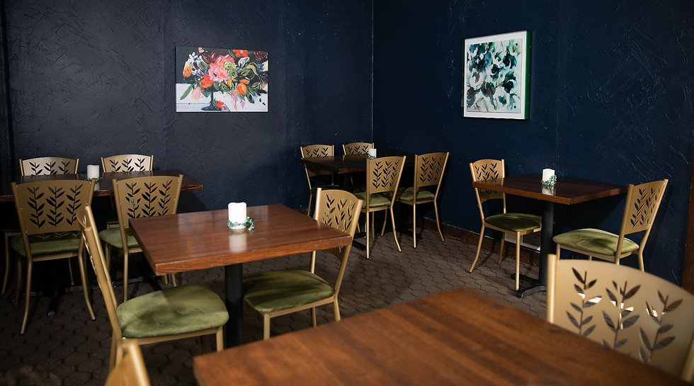 EJ Designs Commercial Interior Design for Cafe Magnolia in Mechanicsburg PA