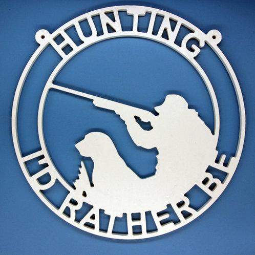 Hunting Man & Dog